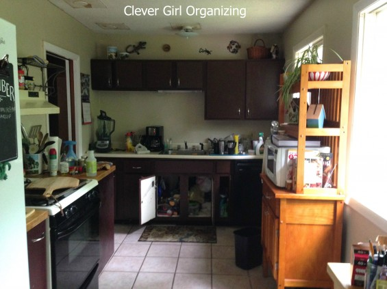 Before and After: Kitchen Edition  [a.k.a.  There's my counter space!]