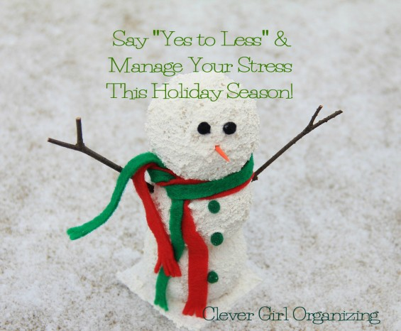 Why *and How* to Say Yes to Less This Holiday Season