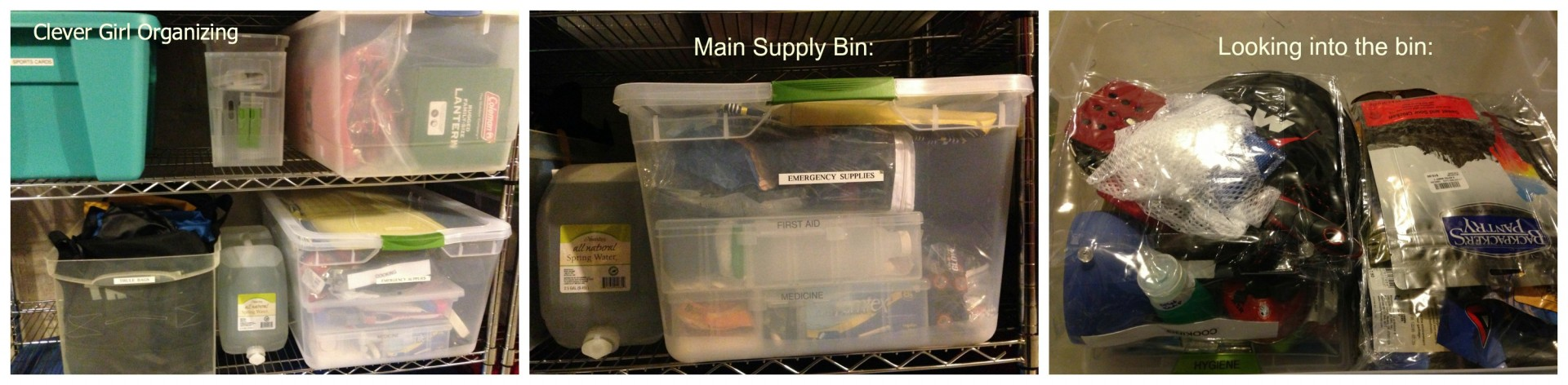 Shelving and Bin