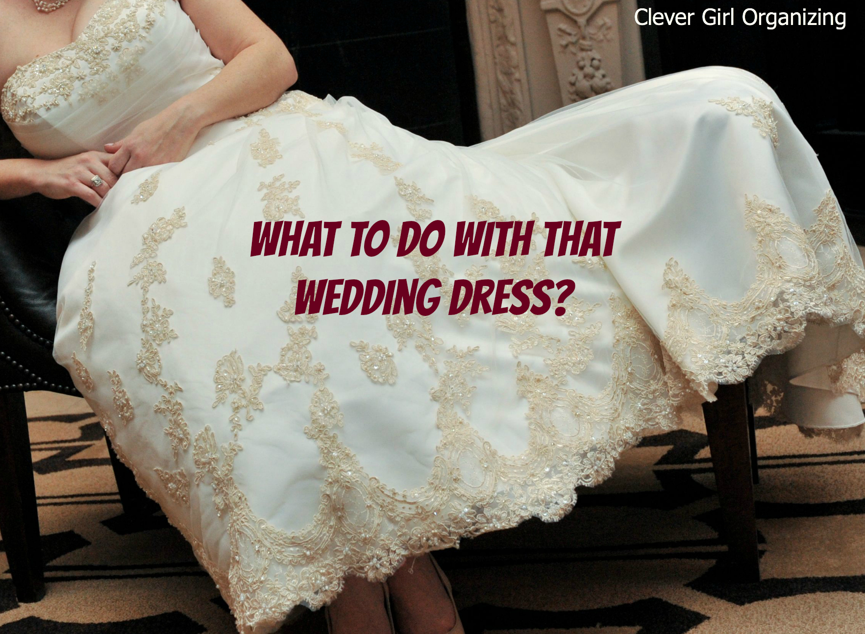 what to do with that wedding dress With what to do with old wedding gowns