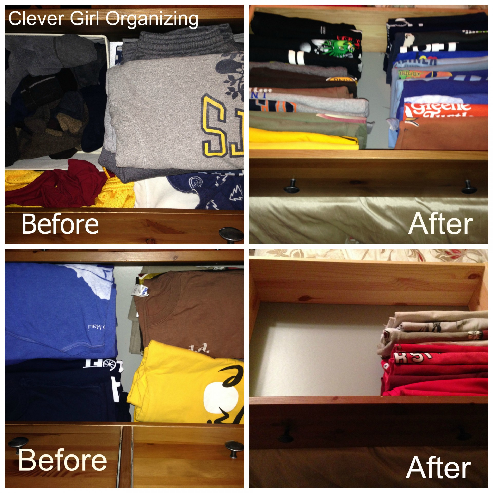 Storing T-shirts a New Way… File Them Away ...