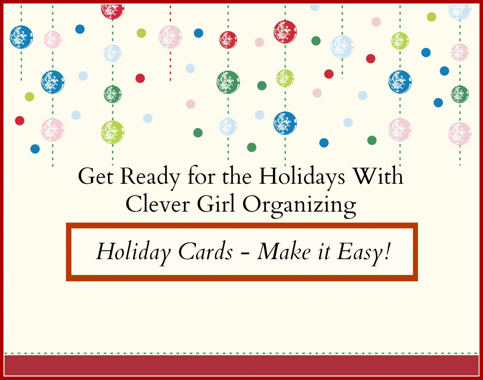 holiday cards make it easy