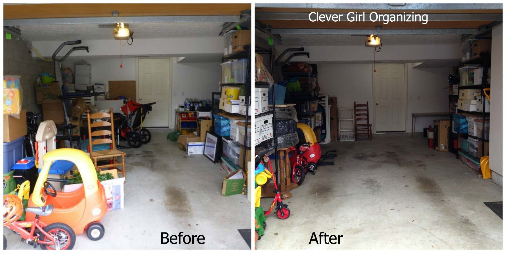 Before And After Major Garage Clean Out Clever Girl