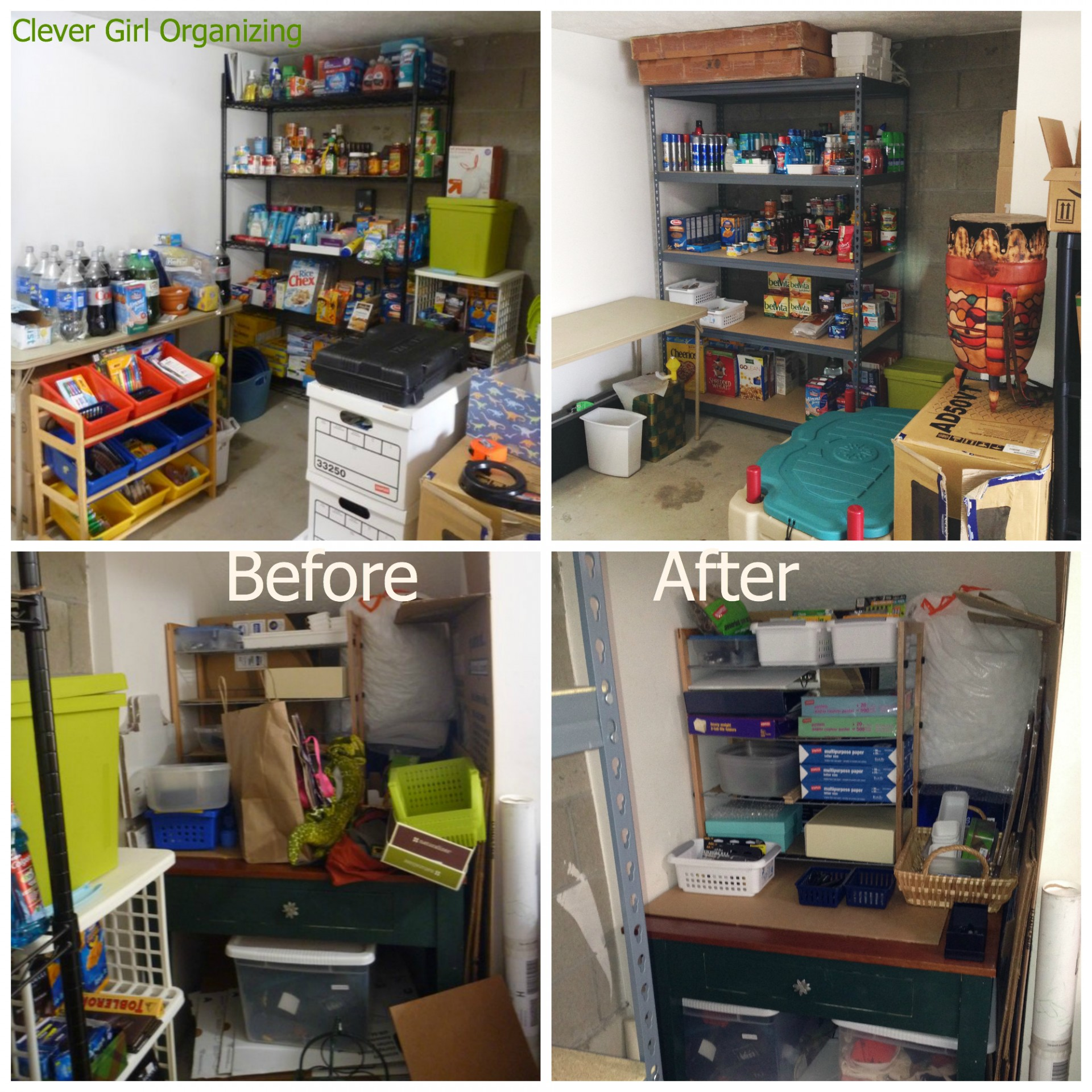 Before And After Major Garage Clean Out