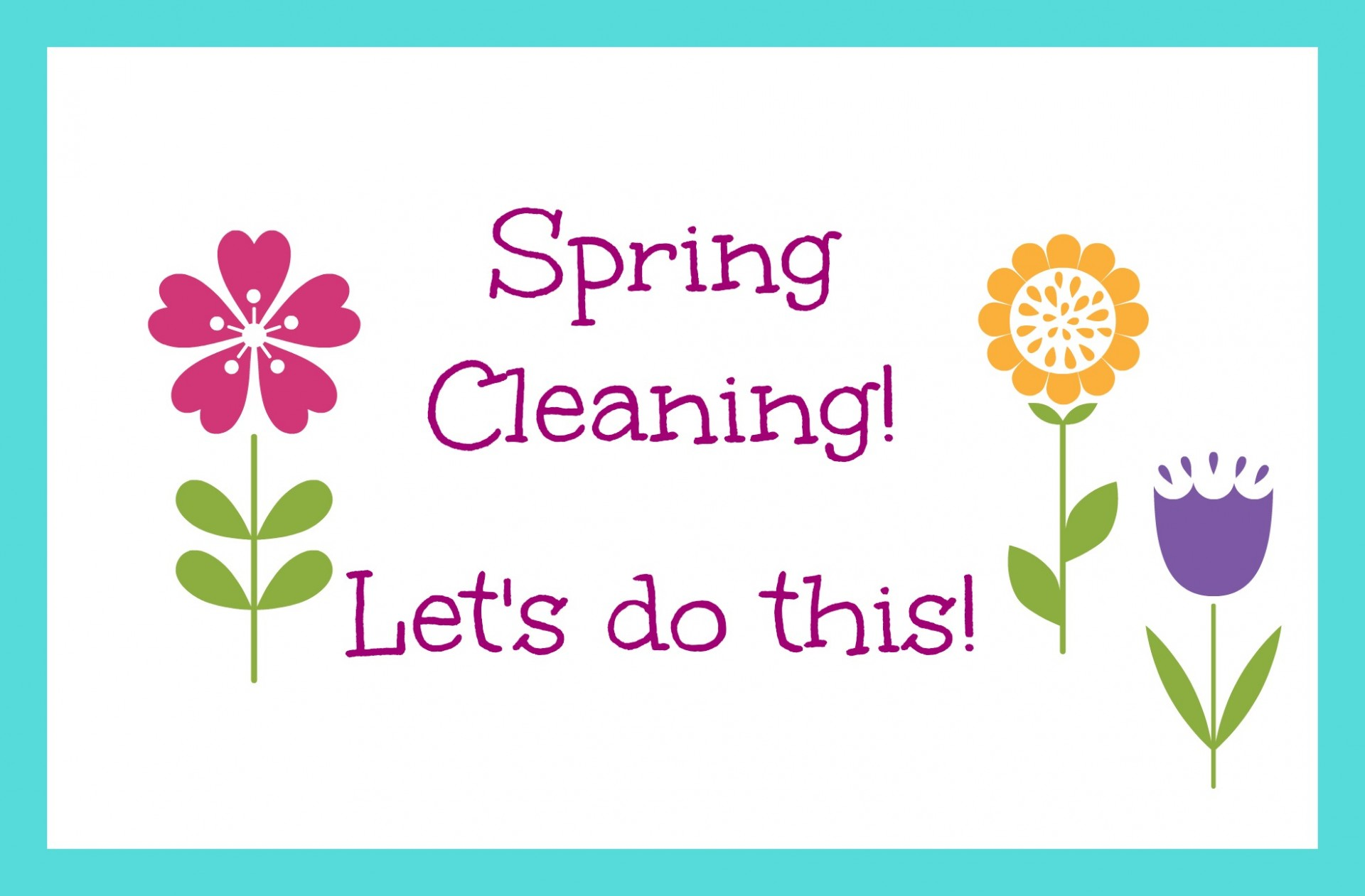 How to create your spring cleaning plan What month is spring cleaning