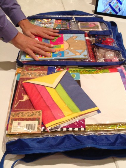 5-Minute Clutter-Bust Idea:  Declutter Your Gift Wrap, and Store it Better