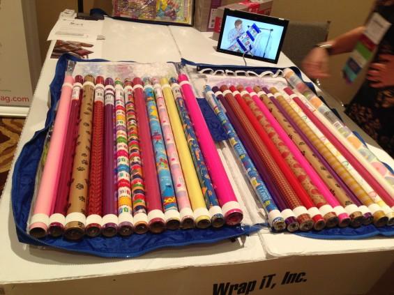 gift wrap rolls