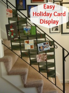 Holiday Cards: Giving and Getting, all while being a little more organized