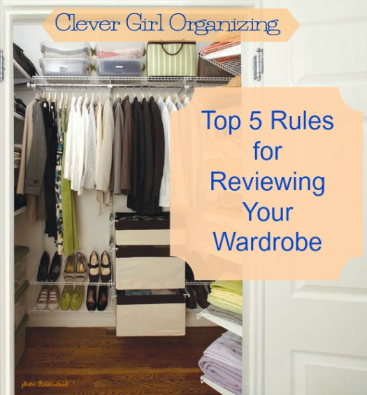 Week 5 of the 2016 Clever Girl Organizing Challenge: All the Clothes, Week 2