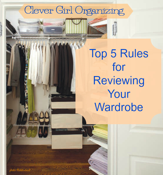 Top 5 Rules for Reviewing Your Wardrobe (and letting go of the items that fail the test)