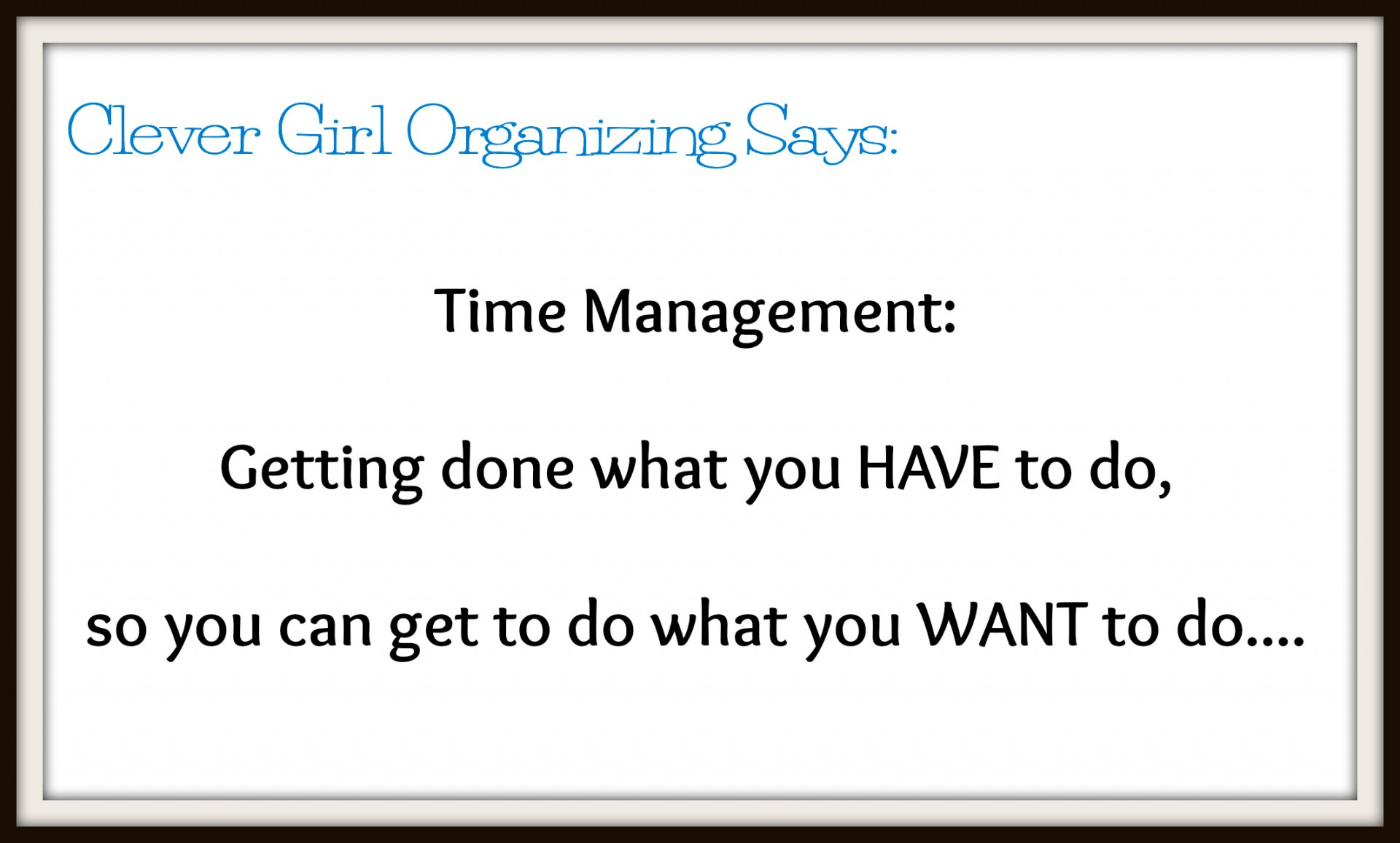 time management: choose and use the right planner