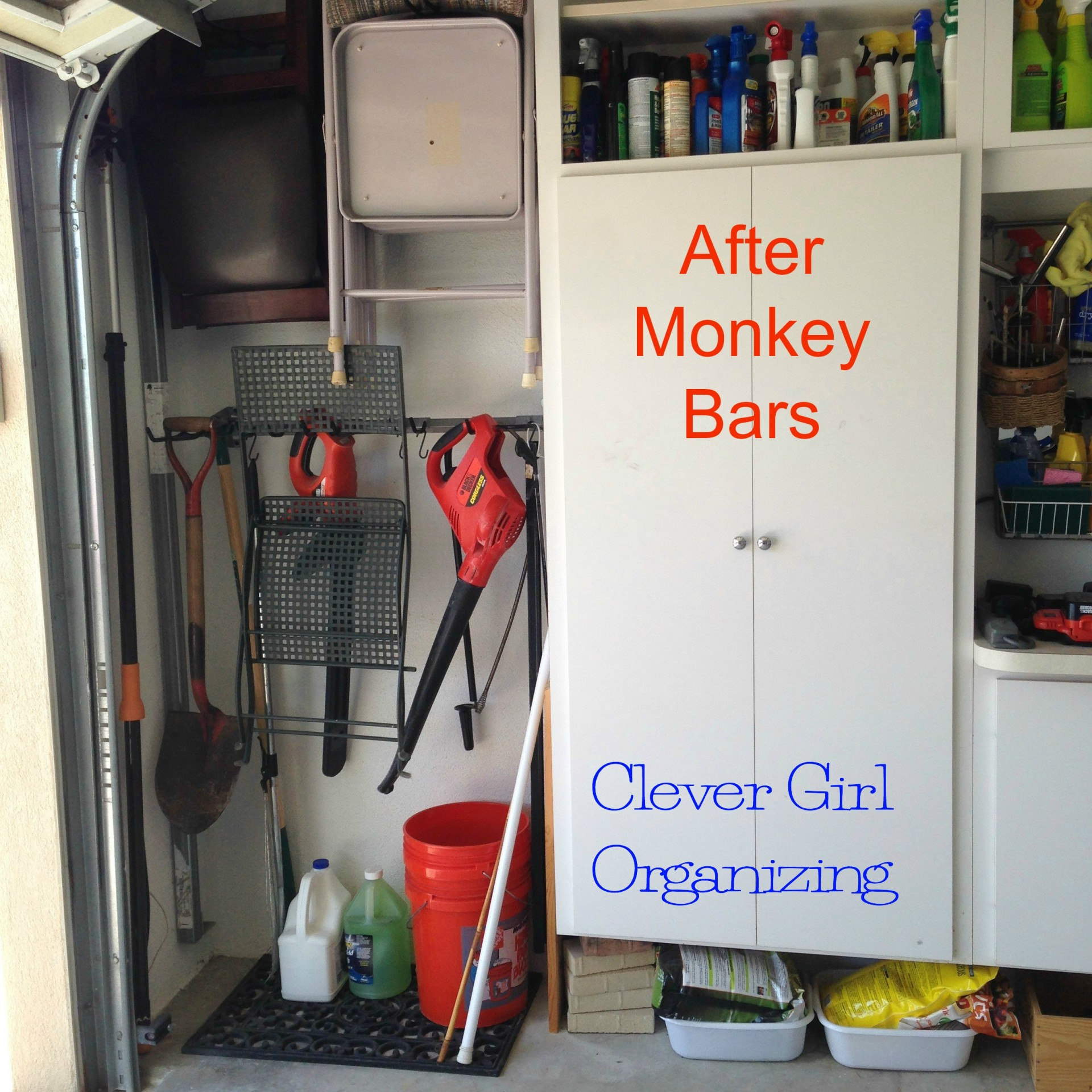 system the and pin to homeowners minimize allows monkey clutter garage floor bars storage maximize space
