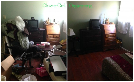 before after desk