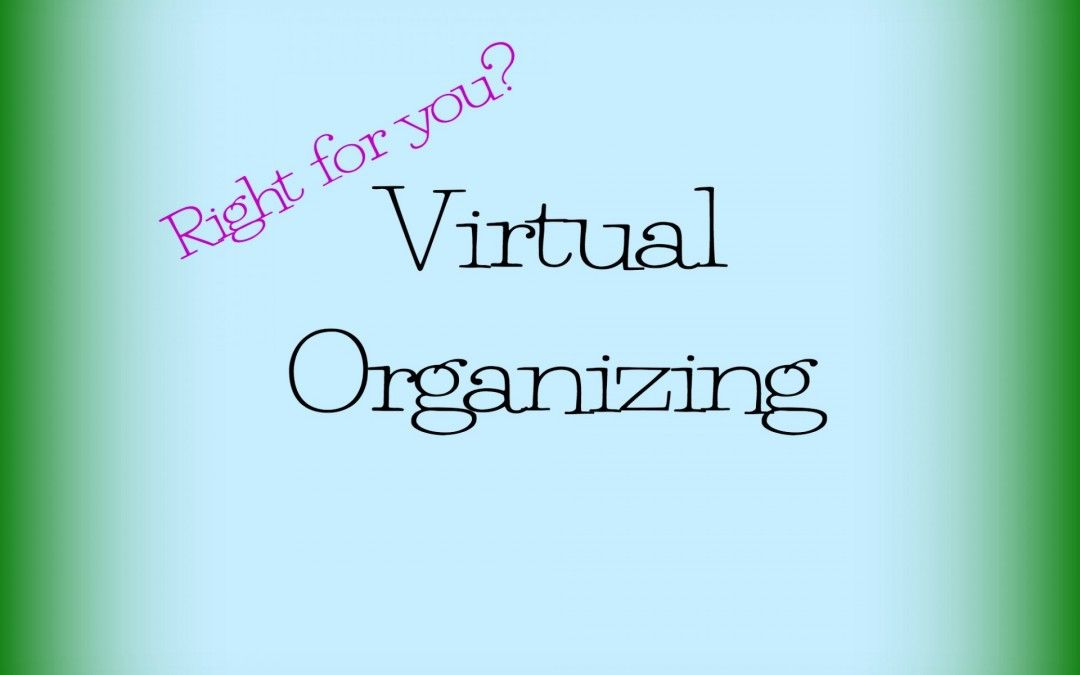 Need Help? Is Virtual Organizing Right for You?