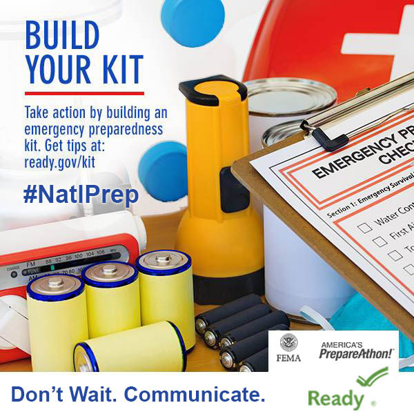 Let's Get Prepared! Day 12 – Build Your Emergency Kit