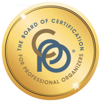 Certified Professional Organizer Logo