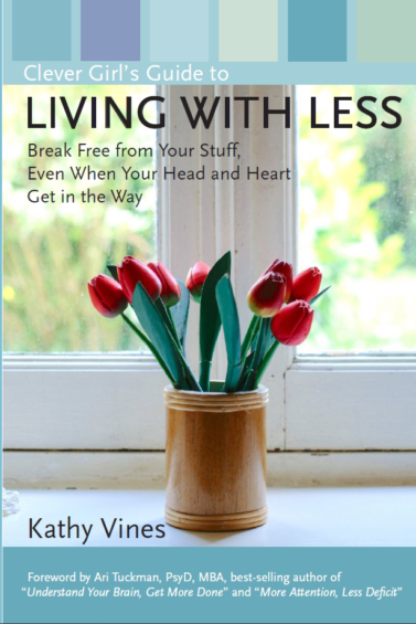 Clever Girl's Guide to Living with Less, Front Book Cover