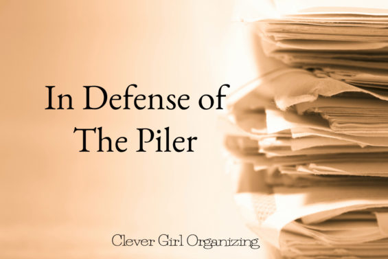 In Defense of The Piler