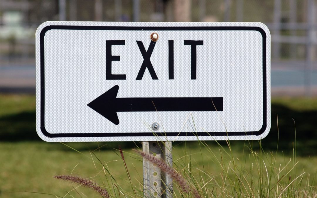 Out but where? Exit strategies for Your Evicted Items.