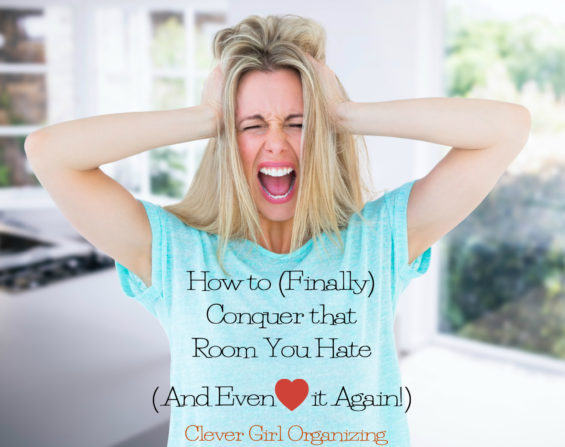 Conquer the Room You Hate - Woman Screaming