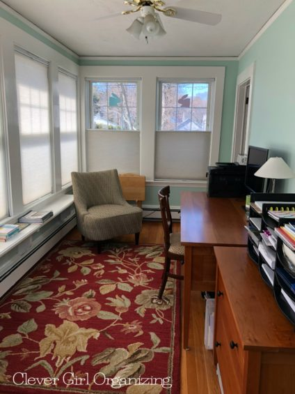 Sun Room Home Office After 1