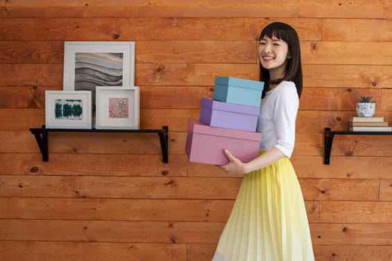 marie kondo tidying up netflix