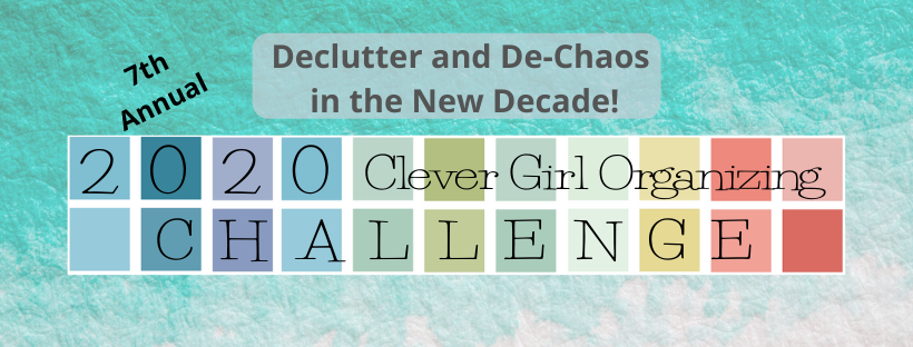 2020 Clever Girl Organizing Challenge Logo